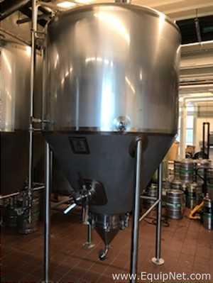 Lot Of 3 Sprinkman Brewing Systems 20BBL Fermentors 620 Gallon Working Volume