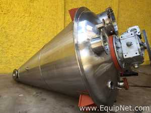 Semco Equipments Nautamixer 3000 Liter Stainless Steel Mixer