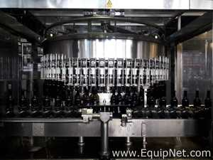 Bertolaso Wine Bottle Filling Line with Rinser and Capper