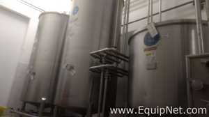 System CIP with Tanks of 5000 Liter
