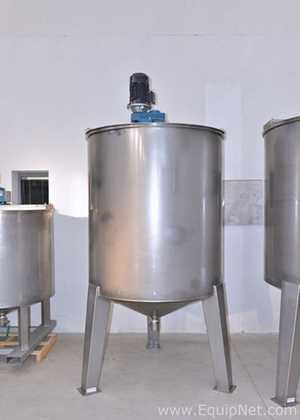 Unused Coprinox 2300 Liters Mixing Tank with Jacket