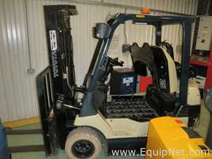 Toyota 7FB25 SideShift Battery Electric Counterbalance Sit on Triple Mast Forklift 2500 Kgs Max Lift
