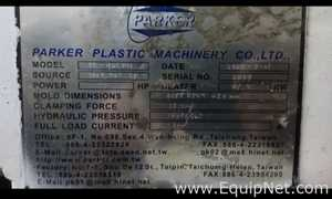 Sistema de Moldagem Parker Plastic Machinery Co Ltd PK 90 CDH