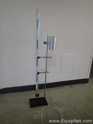 Unused Resonance Apparatus with stand 6 inch X 8.75 inch