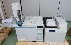 Agilent Technologies 6890N Gas Chromatograph System with G1888 Network Headspace Sampler