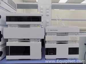 Sistema HPLC Agilent Technologies G1312B; G1367C; G1316C; G1379B; G4212B