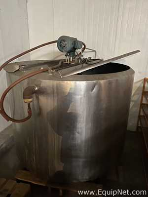 400 Gallon Jacketed Mixing Kettle