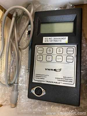 lote de  6 Medidor de Condutividade VWR Traceable