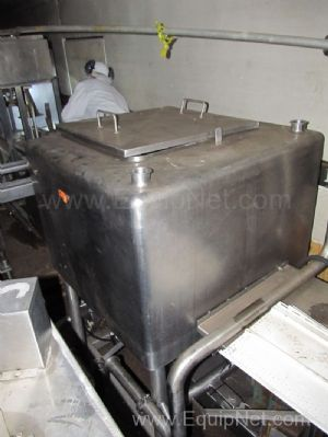 100 Gallon Stainless Steel Liquifier