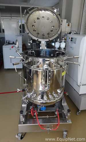 Civinox MRB2040 Jacketed Stainless 180L Bioreactor with  IPCS Process Control System