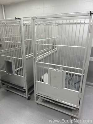 Lot of 2 Large Animal Cages