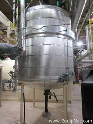 1750 Gallon Stainless Steel Mix Tank