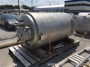 Precision Stainless 2500 Liter Stainless Steel Jacketed Reactor