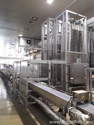 Gronemayer Maschinenfabrik Continuous Cooler Belt Conveyor and Accumulater