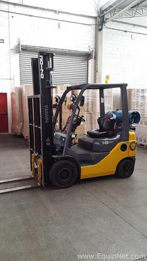 Toyota 1800 KGS 8FGU18 Fork Lift Reach Truck 2010