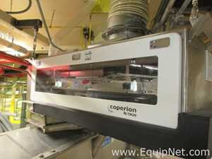 Coperion K-Tron SWB-600 LIW Weigh Belt Feeder With Stainless Steel Screw Conveyor