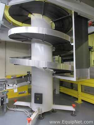 Ambaflex Spiralveyor SV Spiral Incline Conveyor