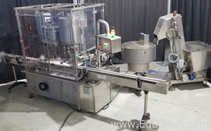 IMA Farmomac F570 Filler Capper with refurbished electrical panel
