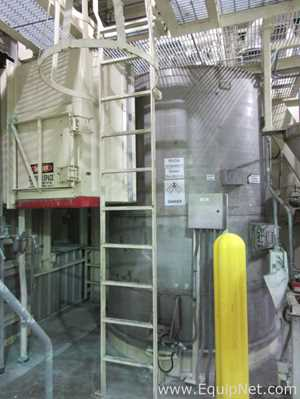 Watkins Engineers And Constructors 4500 Gallon 304L Stainless Steel Receiver With Dust Collector