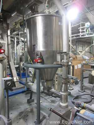 K Tron Soder LIW Screw Feeder Stainless Steel Hopper