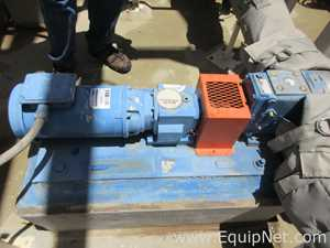 Waukesha 2 HP Stainless Steel Positive Displacement Pump