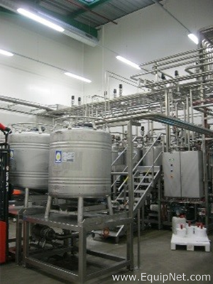 APV In-Line Continuous Process Mayonnaise Production Equipment