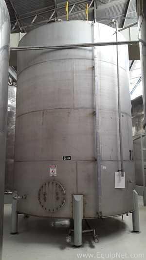 Ziemann Liess 50 Cubic Meter Stainless Steel Tank