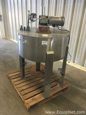 Gustafson 50 Gallon Stainless Steel Mix Tank