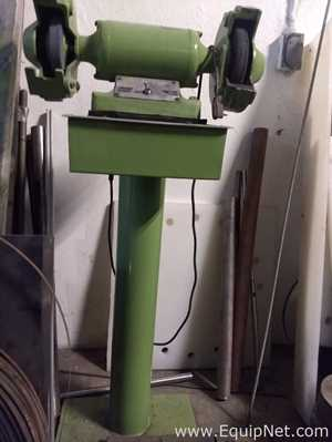 2 Head Bench Grinder on Stand
