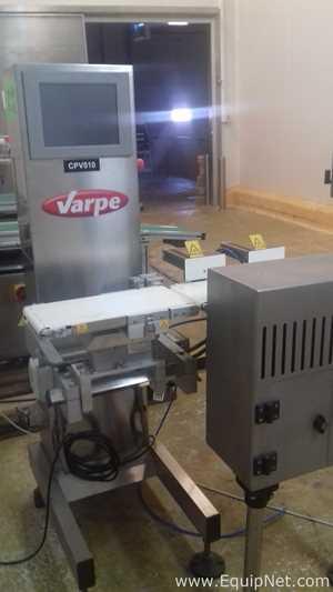 Varpe V 2000 Check Weigher Max 50g to 3000Gg 62 packs per min 2013