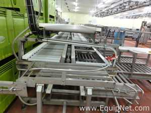 Motorized roller conveyors and cutting tables Sold as lot