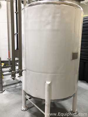 200 Gallon Estimated Stainless Steel Insulated Mix Tank