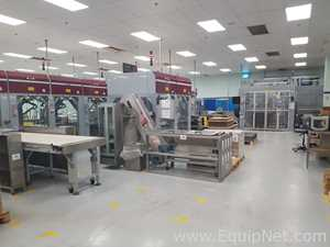 Complete Farason Automated Cosmetic Powders Packing Line