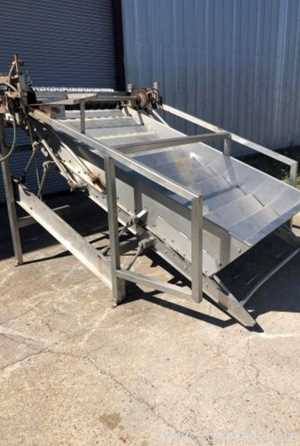 Grove Dale Corporation flight feeder and slicer  flight feeder and slicer Canning Equipment