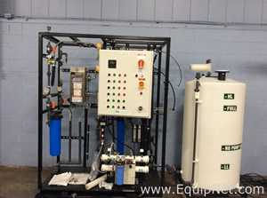 BPE Reverse Osmosis Water Treatment System With 100 Gallon Tank