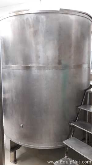 Mixing Vessels - Custom 3000lt stainless steel