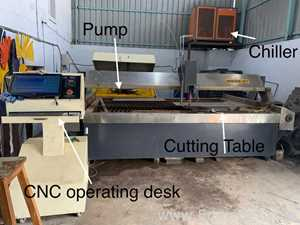 Yongda CNC Waterjet Cutting Machine