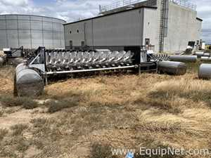 EC House Floating Brush Aerator 25 hp For Water Treatment Plants Twelve Systems Available
