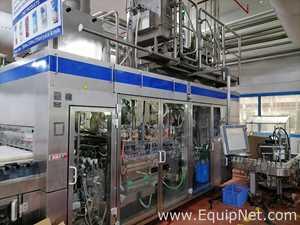SIG Combibloc CFA 124-36 Beverage Filling Line For Cartons