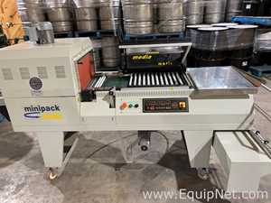 Minipack Torre Media L Bar Sealer with Integrated Heat Tunnel