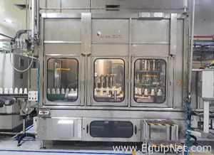 ACMA WMM24/12-150 Rotary Net Weight Monoblock Filler Capper Line for Bottles