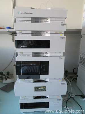 Agilent Technologies 1200 Series HPLC System with Quat Pump and DAD