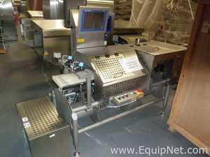 Mettler Toledo XS3 Check Weigher Left to Right Belt Configuration