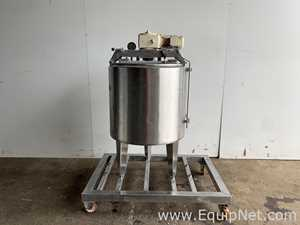 NNP 350KG Mixing Tank With Top Mounted Mixer