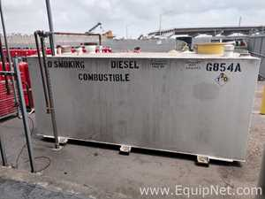 Tanque Hoover Containment Inc. Lube Cube  No. de cuchillas 1000 GALS