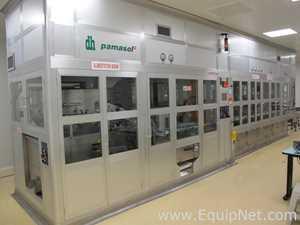 Pamasol Aerosol flasks filling line