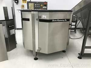 Service Engineering Inc Unscrambler 25422 With Electrical Cabinet