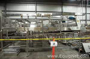 Sentry Dual Pressure 4 Way Combining Conveyor with Pneumatic Gate