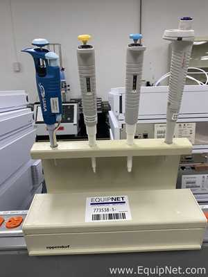 Eppendorf Pipettes Stand Four Positions