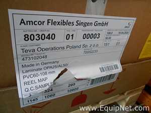 Consumível Amcor Flexibles Singen GmbH 3401294; TDSP0389-E - FORMPACK